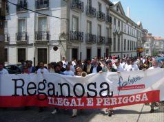 Manifestación contra Reganosa