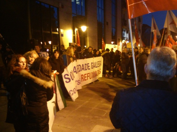 Concentración de onte en Ferrol